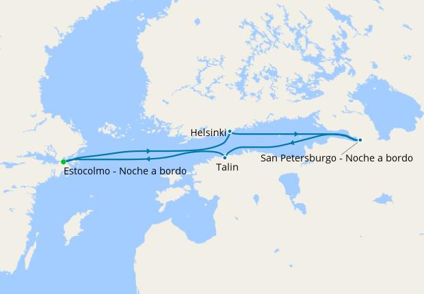 luna-de-miel-crucero-baltico-itinerario-costa-cruceros