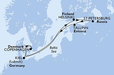 luna-de-miel-crucero-baltico-itinerario-msc