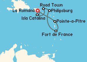 luna-de-miel-crucero-caribe-itinerario-costa-cruceros