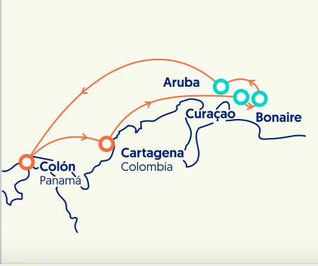 luna-de-miel-crucero-caribe-itinerario-pullmantur