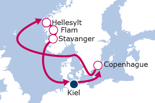 luna-de-miel-crucero-fiordos-itinerario-msc-cruceros