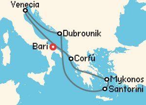 luna-de-miel-crucero-islas-griegas-itinerario-costa-cruceros
