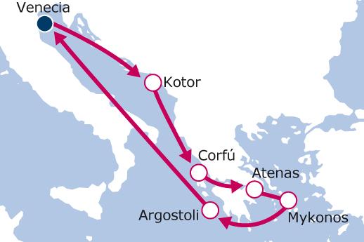 luna-de-miel-crucero-islas-griegas-itinerario-royal-caribbean